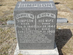 Lucy M <i>Phillips</i> Simpson