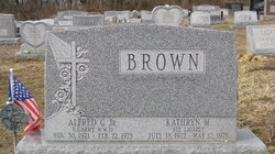 Kathryn M <i>Laverty</i> Brown