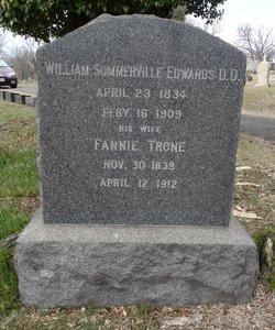 Rev William Sommerville Edwards