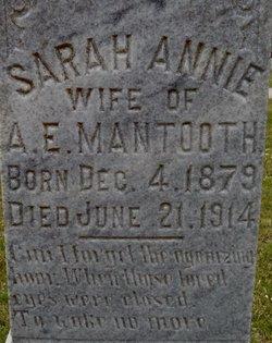 Sarah Annie <i>Atkinson</i> Mantooth
