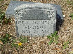 Eula Malone <i>Scruggs</i> Addison