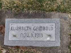 Elizabeth Gambold