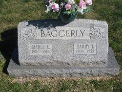 Lucy Merle <i>Garrison</i> Baggerly