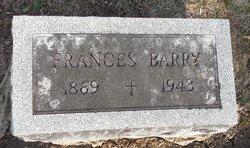 Frances <i>Butler</i> Barry