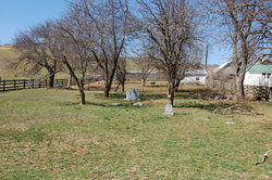 Barringer Cemetery in the Cove