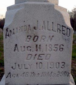 Amanda Jane <i>Lineberry</i> Allred