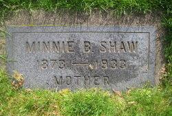 Minnie Belle <i>Warner</i> Shaw