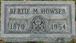 Albertina Mahala Bertie <i>Rogers</i> Howser