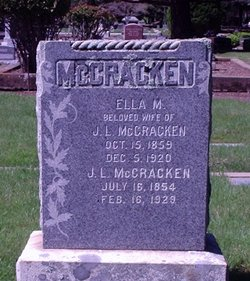 Ella May <i>Todhunter</i> McCracken