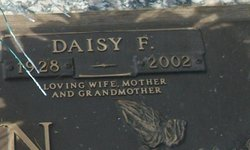 Daisy Frances <i>Galloway</i> Austin