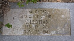 Maggie Bell <i>Halford</i> Christian