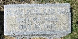 Pearl <i>Penland</i> Cox