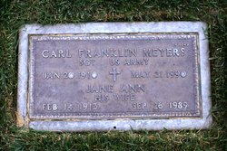 Carl F Meyers