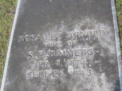 Rosa Lee <i>Arnold</i> Summers