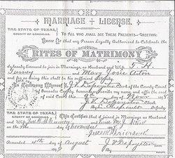 Mary Josephine Josey Aiton