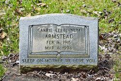 Carrie Lee <i>Lynum</i> Armstead