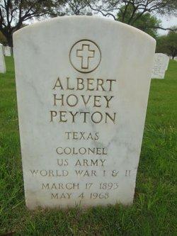 Albert Hovey Peyton