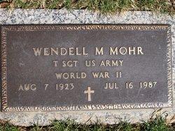 Wendell Michael Mohr