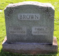 Emma Frances <i>Newbon</i> Brown
