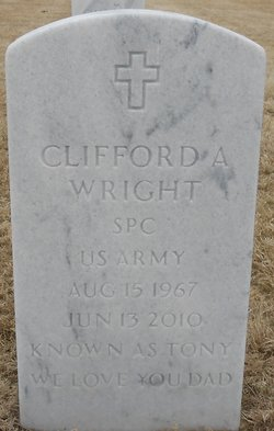 Clifford A Wright