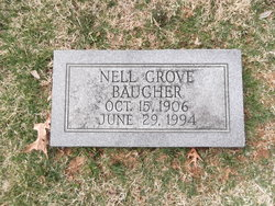 Nell Mae <i>Grove</i> Baugher