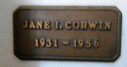 Jane I <i>Ianson</i> Corwin