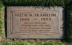Hilda M <i>Strauss</i> Franklin