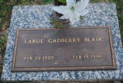 Larue <i>Gadberry</i> Blair