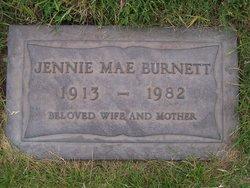 Jennie Mae <i>Young</i> Burnett