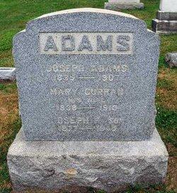 Mary <i>Curran</i> Adams