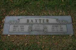Henry H Baxter