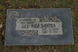 Lee Roy Baxter