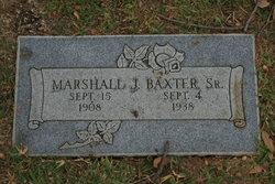 Marshall J Baxter, Sr