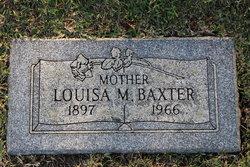 Louisa M <i>Van Horn</i> Baxter