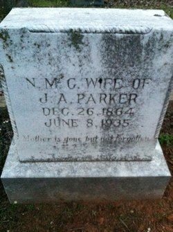 Nancy Mary Caroline <i>Sandifer</i> Parker