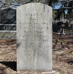 Susan T <i>Wood</i> Howland