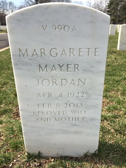 Margarete <i>Mayer</i> Jordan