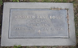 Winifred <i>Zane</i> Bogue