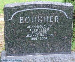 Jeanne <i>Gascon</i> Boucher