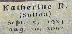 Katherine R <i>Sutton</i> Ayres