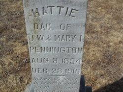 Hattie A. Pennington