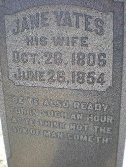 Jane <i>Yates</i> Hervey