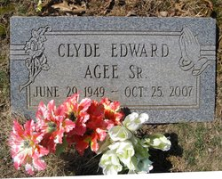 Clyde Edward Agee, Sr