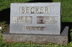 Jane T <i>Totten</i> Becker