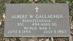 Albert W Gallagher