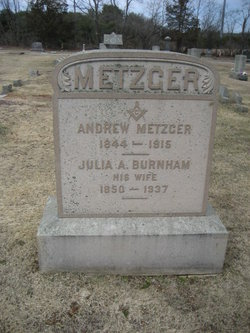 Julia A <i>Burnham</i> Metzger