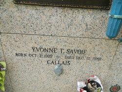 Yvonne Marie <i>Terrebonne</i> Callais