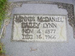 Minnie Bailey <i>McDaniel</i> Lynn