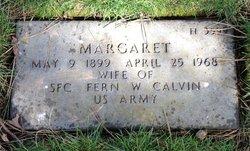 Margaret Calvin