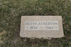 Betty <i>Rogers</i> Atherton